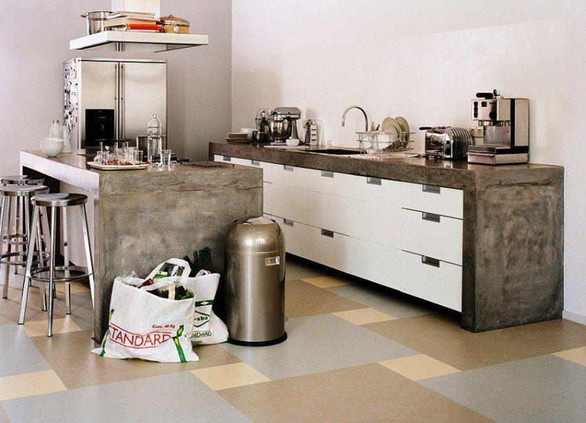 Linoleum für die Küche Eigenschaften der Beschichtung und Empfehlungen zur Auswahl • Alles über ...